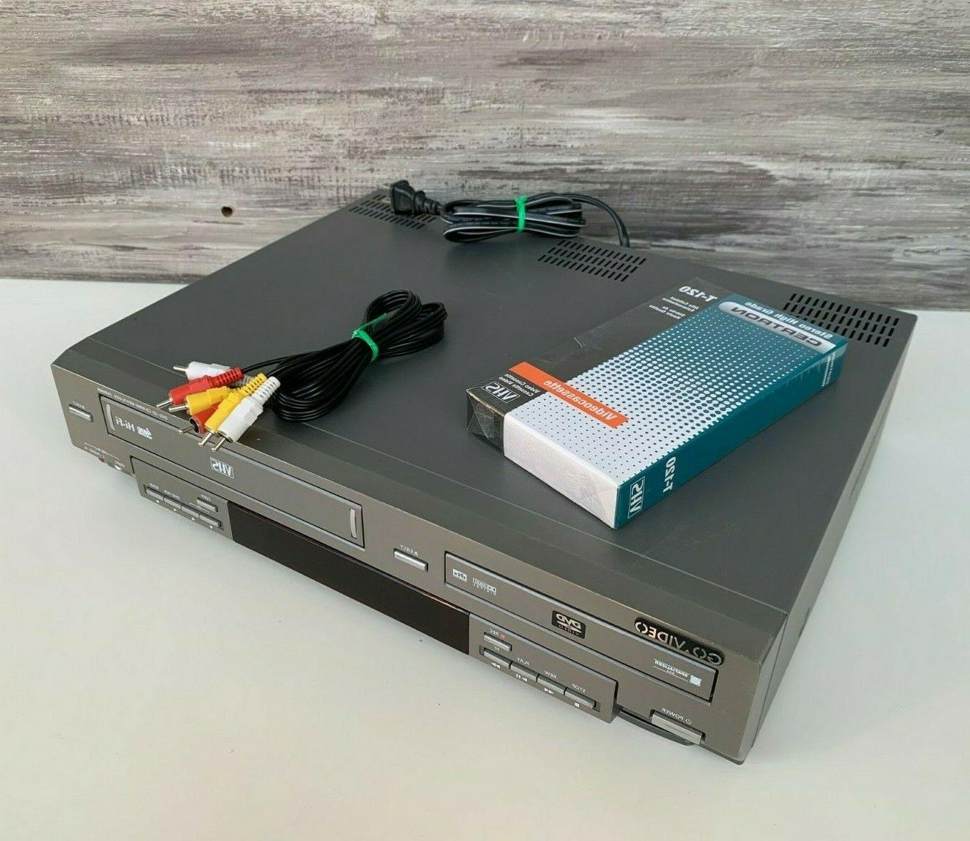 govideo dvr4400 combo dvd and vhs recorder