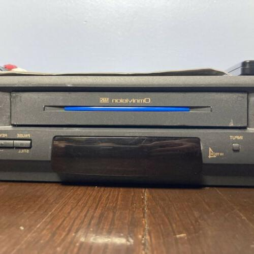 Look! Panasonic Head VHS VCR + + + Heads Cleaned!