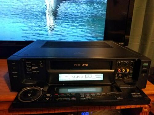 svo 2000 s vhs vcr super player