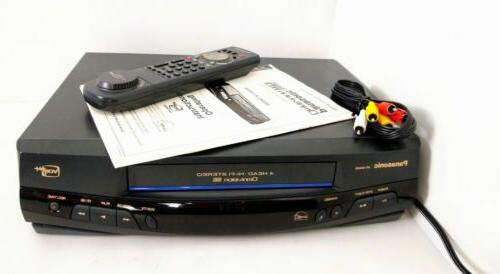 TESTED VCR VHS Player/ Recorder Remote/ Manual/