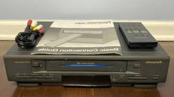 look pv 4351 4 head vhs vcr