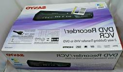 NEW SANYO  DVD Recorder VCR VHS Player Combo NEW IN BOX FWZV