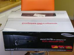 NEW Samsung DVD-VR330 DVD VHS Recorder Player video cassette