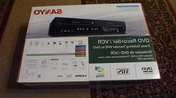 NEW SANYO FWZV475F DVD VHS Recorder Player VCR Combo NEW IN