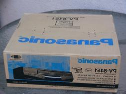 NEW Panasonic PV-8451 VHS VCR Player 4-Head Hi-Fi Stereo vid