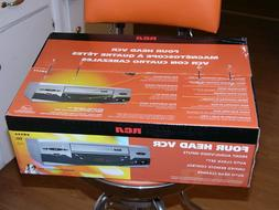 NEW RCA VR546 VHS Player 4 Head video cassette recorder VCR