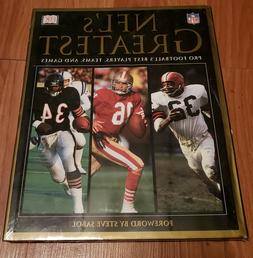 NFLS Greatest book. Pro football's best players, teams and g