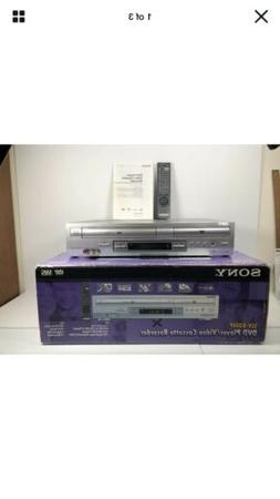 Sony SLV-D300P DVD Player Video Cassette VHS Recorder Combo
