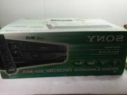 Sony SLV-N55 VHS VCR Player Recorder w/Remote 4 Head NEW fac