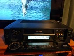 Sony SVO-2000 S-VHS VCR Super Player Recorder TESTED & WORKI