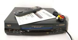 tested panasonic pv 8455s vcr vhs player